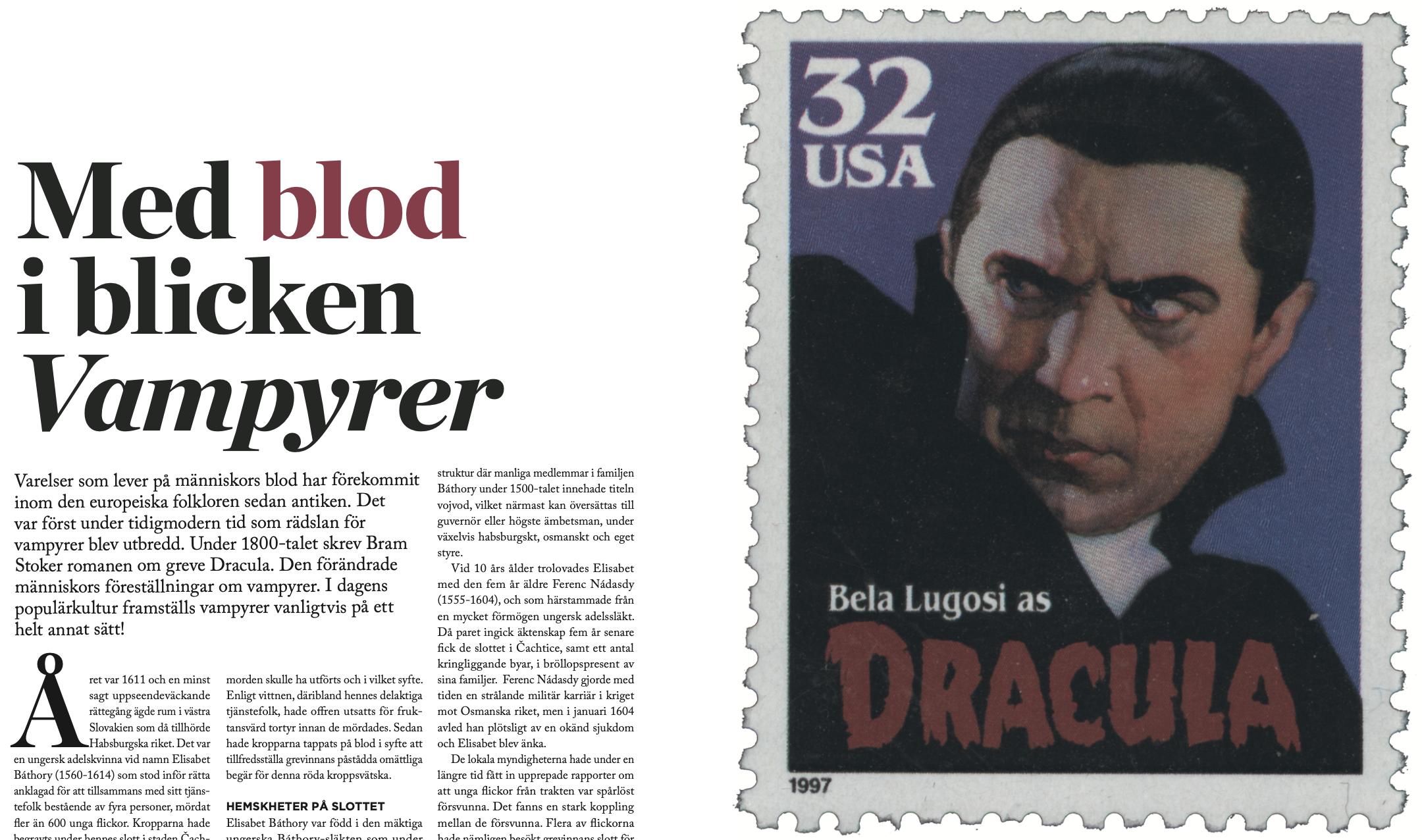 Med blod i blicken – Vampyrer